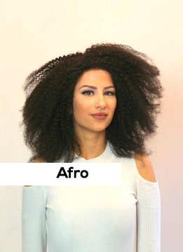 Lacewig - Afro
