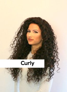 Lacewig - Curly