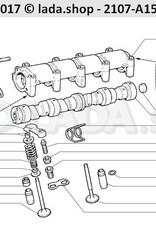 LADA 2101-1007021, Inner valve spring