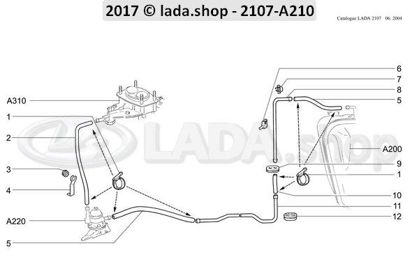 LADA 2101-1104093, Bracket