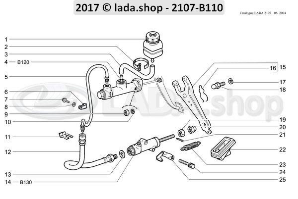 LADA 2101-1602157-01, Clamp