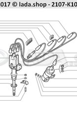 Robert Bosch GmbH 2101-3707010-86, Ignition Conecta Kit