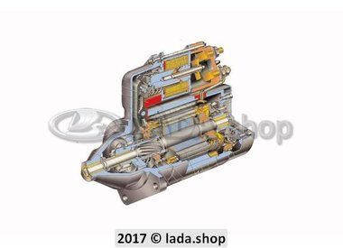 7K1. Crank motor and Alternator