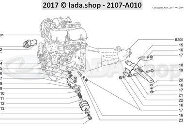 C7 Suspensión del motor