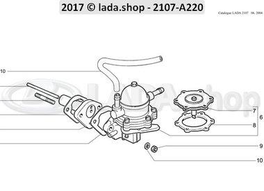 C7 Fuel pump mounting