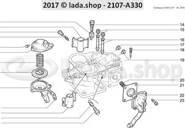 C7 Carburetor body