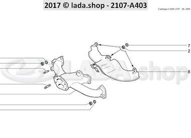 C7 Exhaust manifold