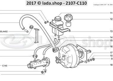 C7 Brake drive components
