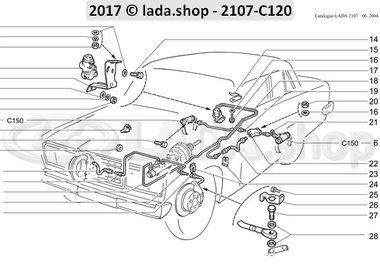 C7 Hydraulic brakes drive