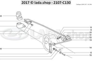 C7 Pressure regulator actuator