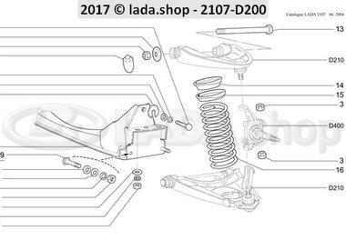 C7 Front suspension
