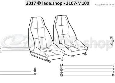 C7 Front seats