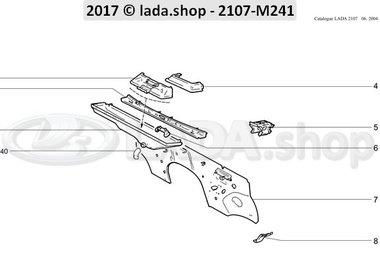 C7 Dash board cowl