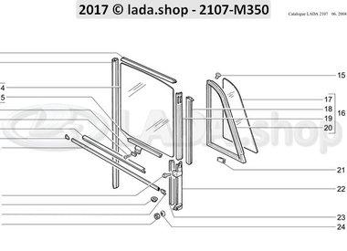 C7 Rear door windows