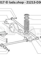 LADA 21213-2910000-86, Ensemble de tiges de suspension arriere