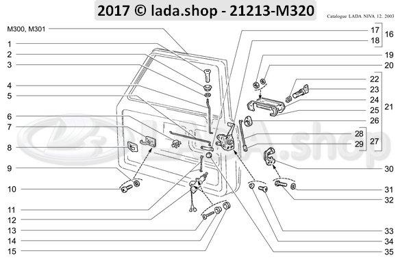 LADA 0000-1000615471, Retainer washer 6
