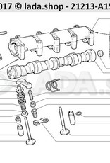 LADA 2101-1007117, Spring lever