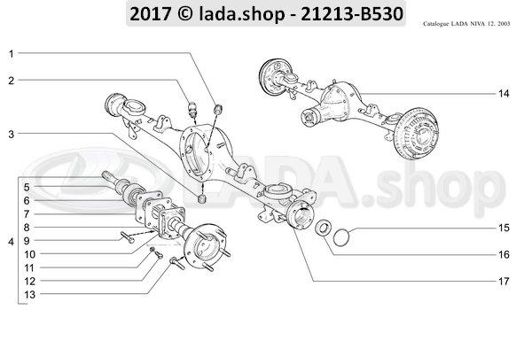 LADA 0000-1000376301, Screw M6x8