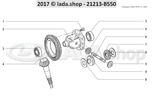 lada shop for lada parts and niva parts - oem