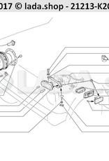 LADA 21213-3711010, Headlamp unit