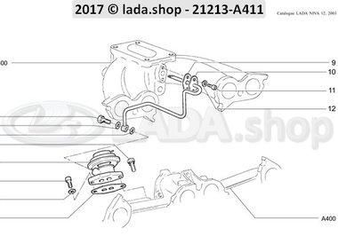 N3 EGR valve CARB 1700