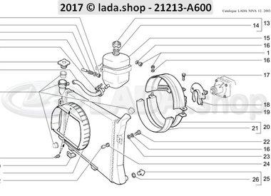N3 Radiator and expansion tank CARB