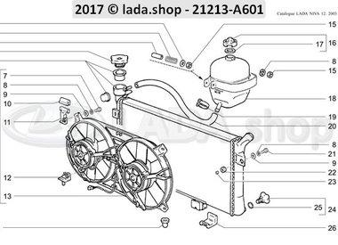 N3 Radiator and expansion tank TBI