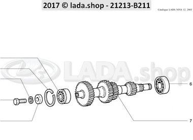 N3 Gearbox intermediate shaft