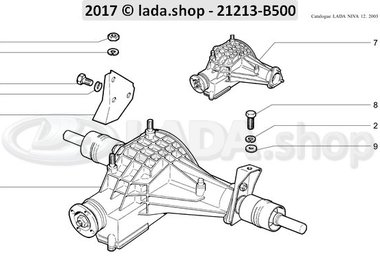 N3 Front axle