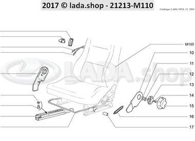 N3 Front seats adjustment mechanism