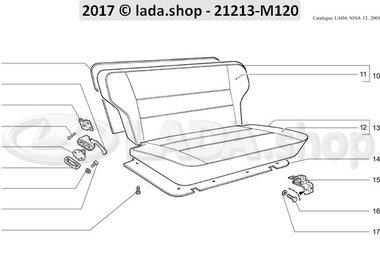 N3 Rear seat