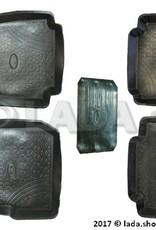 LADA 99999-2121733-82, Ensemble de tapis LADA 4x4 3-portes. classe ORIGINAL (élastique)