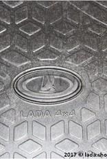 LADA 99999-2121733-82, Cabin matten LADA 4x4 3-deurs.. Klasse ORIGINAL (rubber)