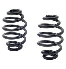 Kollies Parts Spiraal Veren Zwart 3 inch