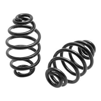 Spiral Springs Black 4 inch