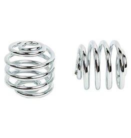 Spiral Springs Chrome 2 inch