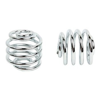 Kollies Parts Spiral Springs Chrome 2 inch