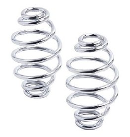 Kollies Parts Spiral Spring Chrome 4 inch