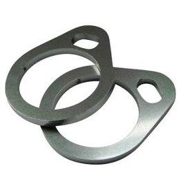 Exhaust flanges Shovelhead stainless steel