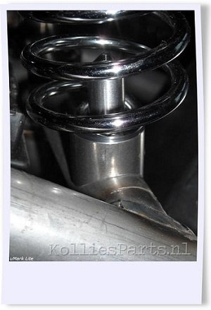 Kollies Parts Mountingkit for Spiral Springs