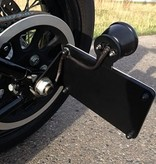 Kollies Parts Side Mount License Plate with STOP-light