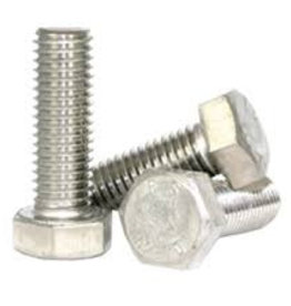 Hexagon bolt S/S 1/4 UNC - 20 x 1 inch