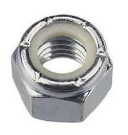 Self locking S/S Nut 1/4 UNF - 28