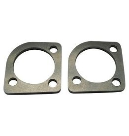 STD - Exhaust flanges Shovelhead stainless steel