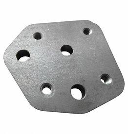 Kollies Parts Montage Plaat Standaard