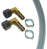 Monitoring hose set for petrol or oil - Brass