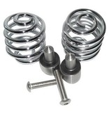 "Kollies Parts Spiral Springs Chrome 2"" with Mounting"