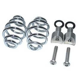 "Kollies Parts Spiral Springs Chrome 3"" with Mounting"
