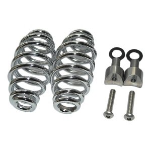 "Kollies Parts Spiral Springs Chrome 5"" with Mounting"