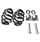 """Motor Seat Springs Black 3"""" with mounting set"""